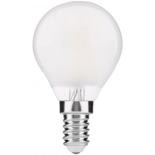 AVIDE-ABLFMG14NW-4W-FR  LED Frosted Filament Mini Globe 4W E14 360° NW 4000K